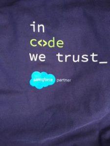 In code we trust-Salesforce partner