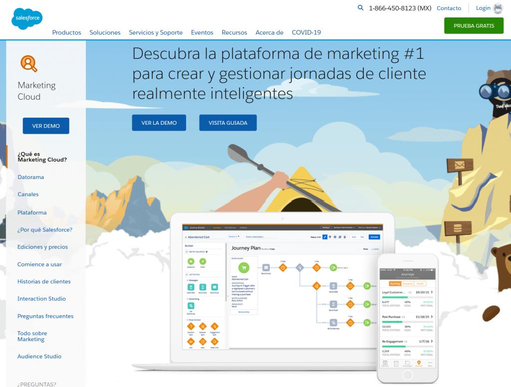 Interfaz de Marketing Cloud-Interface