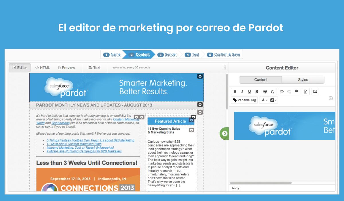 Pardot-editor-correos-marketing