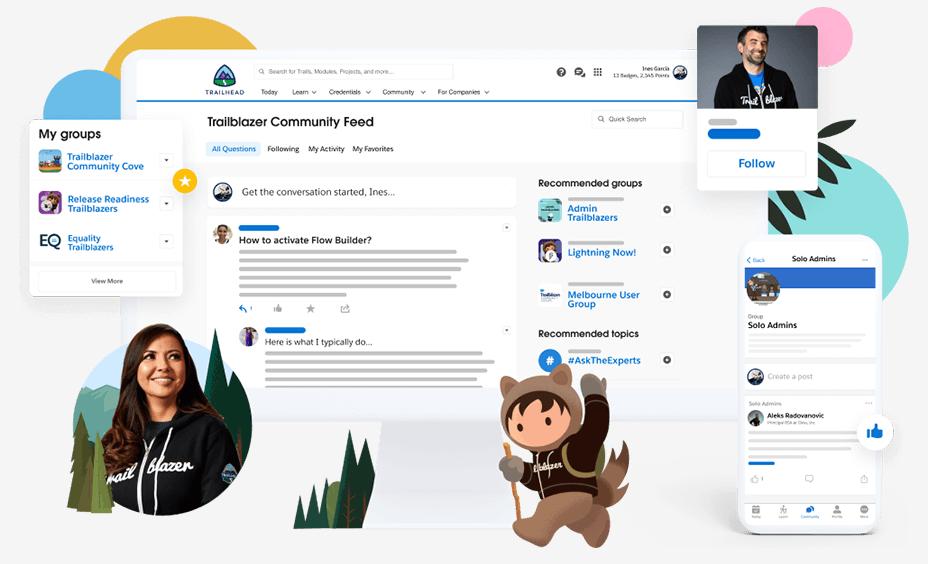Trailblazer Community - Interface