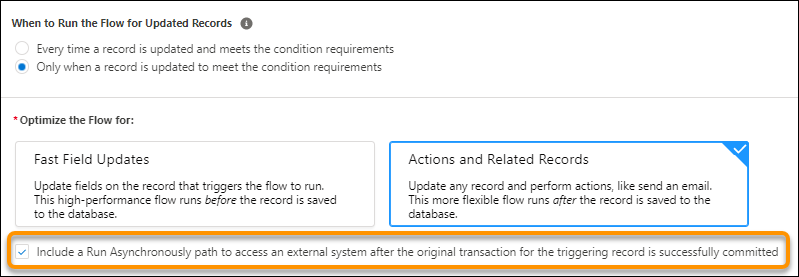 Connect a Record-Triggered Flow to an Extern